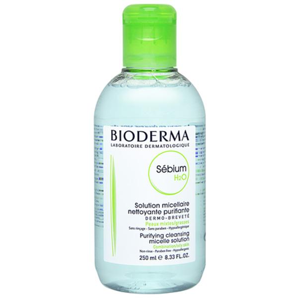 送料無料 ビオデルマ セビウム H2O(オイリー肌) 250ml