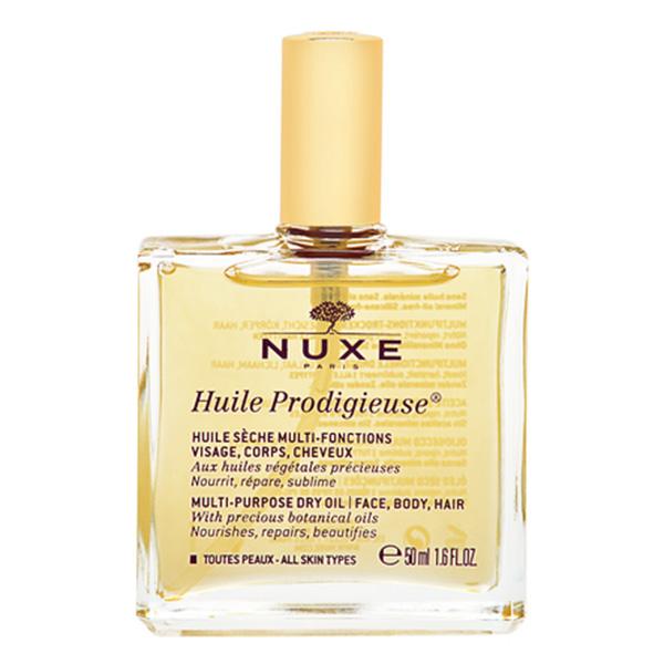オイル nuxe ニュクスの「プロディジューオイル」はサラサラなのにしっとり潤う!顔、髪、全身に使えるよ